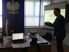 Spotkanie ws. rozpoczęcia wdrożenia ZISZU na Wydziale w Olsztynie, 21 maja 2014